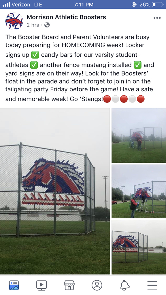 Booster Facebook post
