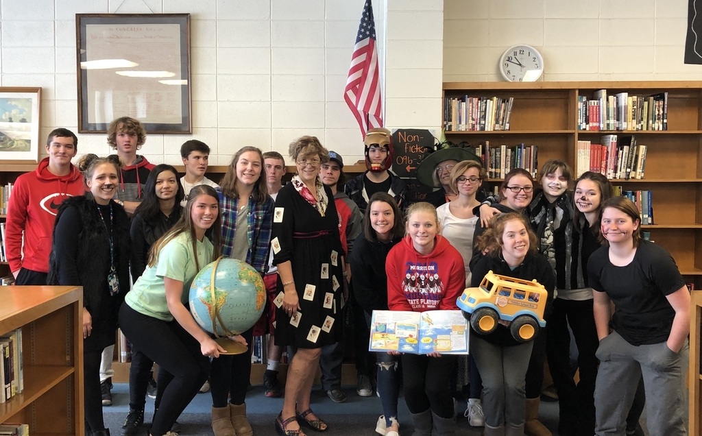 Miss Frizz's English class traveling around the world!