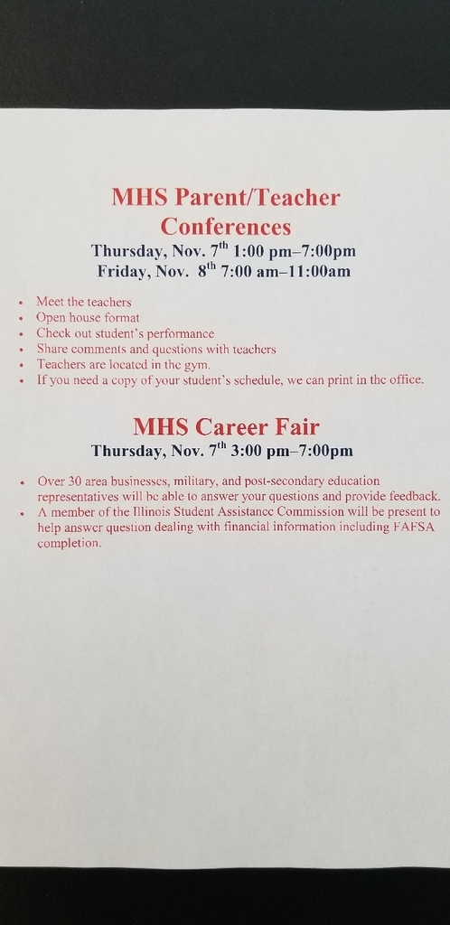 MHS P/T conference & career fair