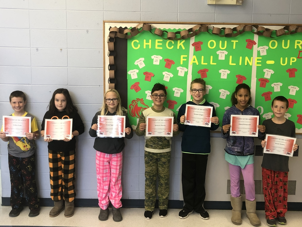 Southside October Students of the Month