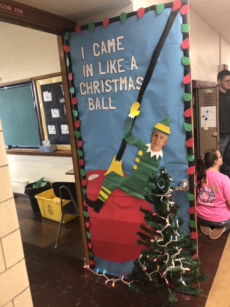 Ms. Palmer's 2nd place door!